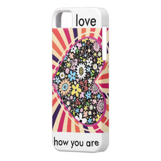 amor iPhone 5 carcasas