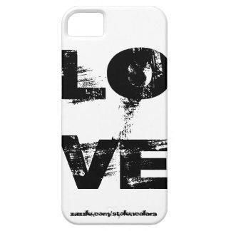 Amor Iphone blanco y negro iPhone 5 Coberturas
