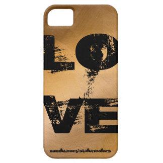 Amor Iphone de cobre iPhone 5 Funda
