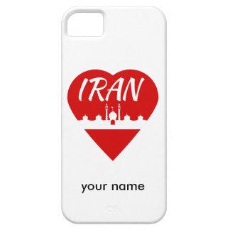 Amor Irán de Irán iPhone 5 Carcasa