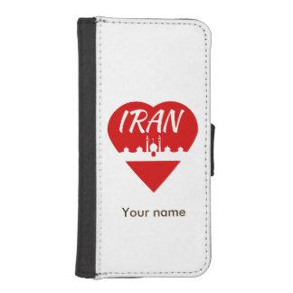 Amor Irán de Irán Funda Tipo Billetera Para iPhone 5