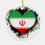 Amor Irán del vintage I Adorno De Reyes