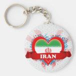 Amor Irán del vintage I Llaveros Personalizados
