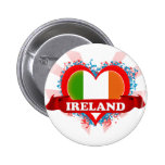 Amor Irlanda del vintage I Pins