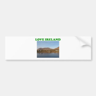 Amor Irlanda Pegatina Para Auto