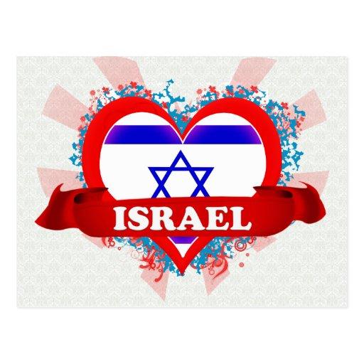 Amor Israel del vintage I Tarjetas Postales