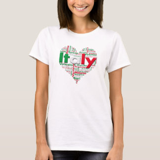 Amor Italia de la camisa I