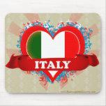 Amor Italia del vintage I Alfombrilla De Ratones
