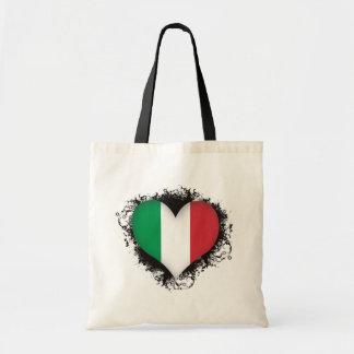 Amor Italia del vintage I Bolsa Tela Barata