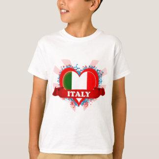Amor Italia del vintage I Playera