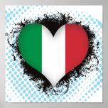 Amor Italia del vintage I Poster