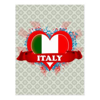Amor Italia del vintage I Tarjeta Postal