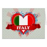 Amor Italia del vintage I Tarjetas