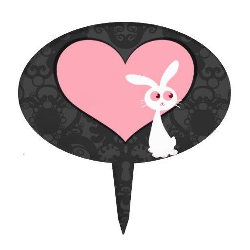 Amor IV del conejito de Shiro Decoraciones De Tartas