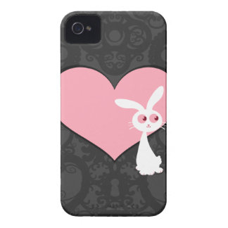 Amor IV del conejito de Shiro Funda Para iPhone 4 De Case-Mate