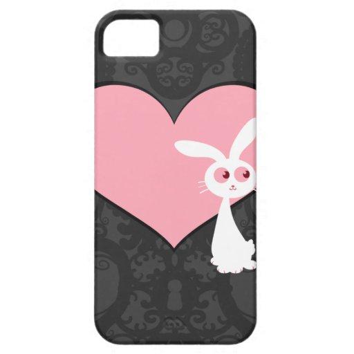 Amor IV del conejito de Shiro Funda Para iPhone SE/5/5s