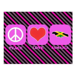 Amor Jamaica de la paz Postales
