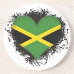 Amor Jamaica del vintage I Posavasos Manualidades