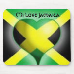 Amor Jamaica Mousepad del MI Tapetes De Raton