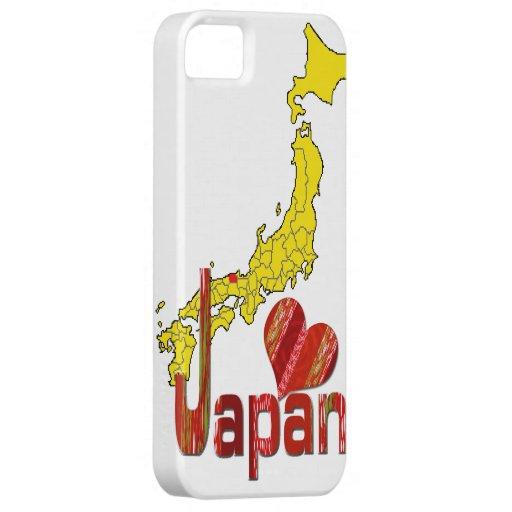 Amor Japón iPhone 5 Carcasas