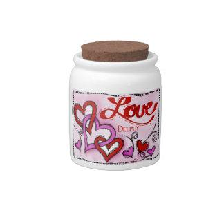 Amor Jarras Para Caramelos