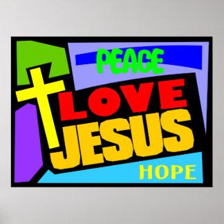 Amor Jesús Póster