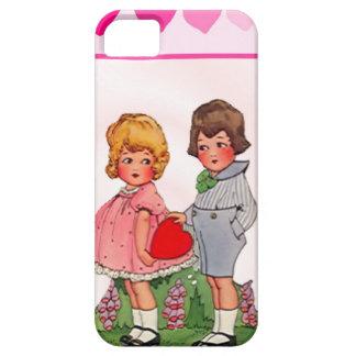 Amor joven iPhone 5 funda