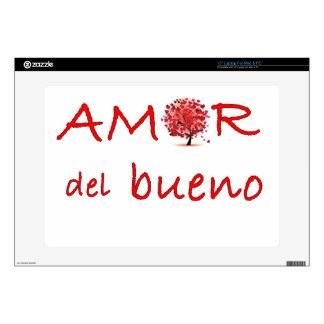 """amor.jpg skins for 15"""" laptops"""