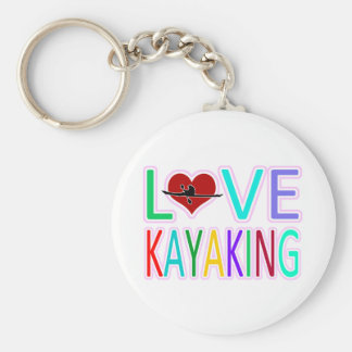 Amor Kayaking Llaveros Personalizados