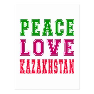 Amor Kazajistán de la paz Postales