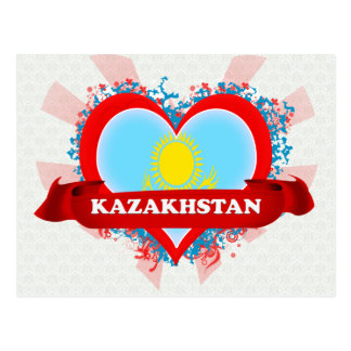 Amor Kazajistán del vintage I Postales
