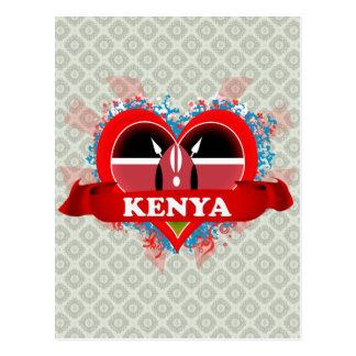 Amor Kenia del vintage I Tarjetas Postales