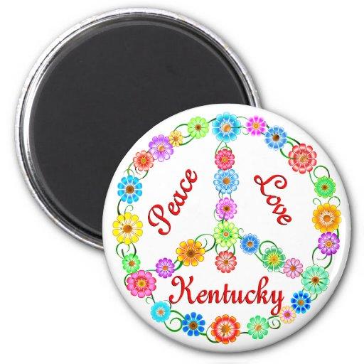 Amor Kentucky de la paz Iman De Nevera