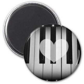 Amor Keys_ Imán Redondo 5 Cm
