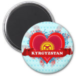 Amor Kirguistán del vintage I Imán Para Frigorifico