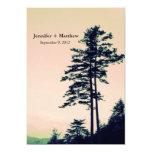 Amor l de los árboles que celebra la invitación invitación 12,7 x 17,8 cm