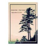 Amor l de los árboles que celebra reserva de la invitación 8,9 x 12,7 cm