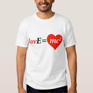 ¿Amor, la física, ecuación de la matemáticas? Playera