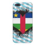 Amor la República Centroafricana del vintage I iPhone 5 Cobertura