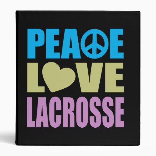 """Amor LaCrosse de la paz Carpeta 1"""""""