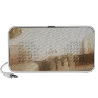Amor Laptop Altavoces