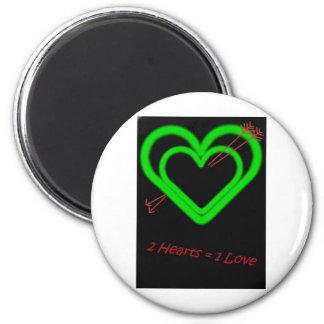 Amor - Liebe Imán Redondo 5 Cm