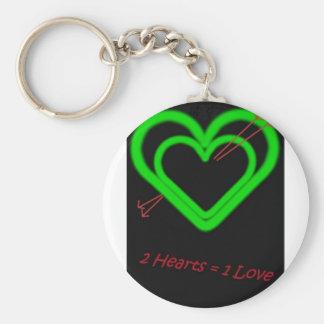 Amor - Liebe Llavero Redondo Tipo Pin