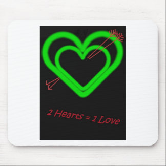 Amor - Liebe Mouse Pad