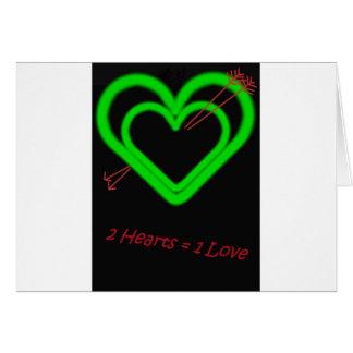 Amor - Liebe Tarjeta De Felicitación