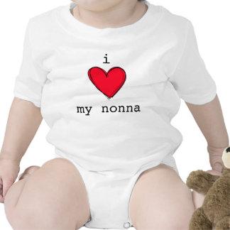 Amor lindo de I mi abuela del italiano de la corre Trajes De Bebé