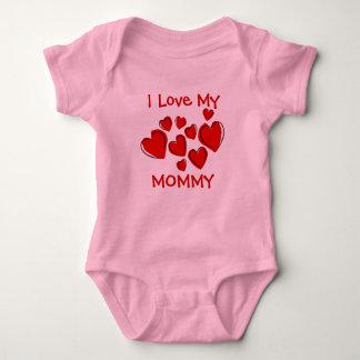 Amor lindo de I mi madre de los corazones rojos Camisas