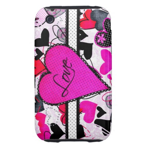 Amor lindo iPhone 3 tough protector
