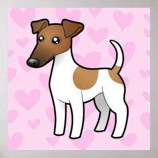 Amor liso del fox terrier póster