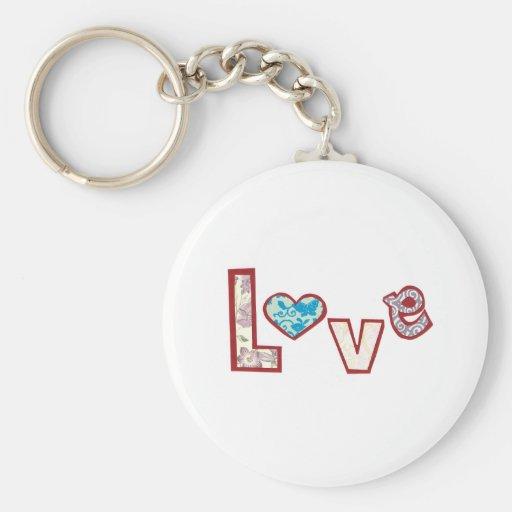 Amor Llavero Personalizado